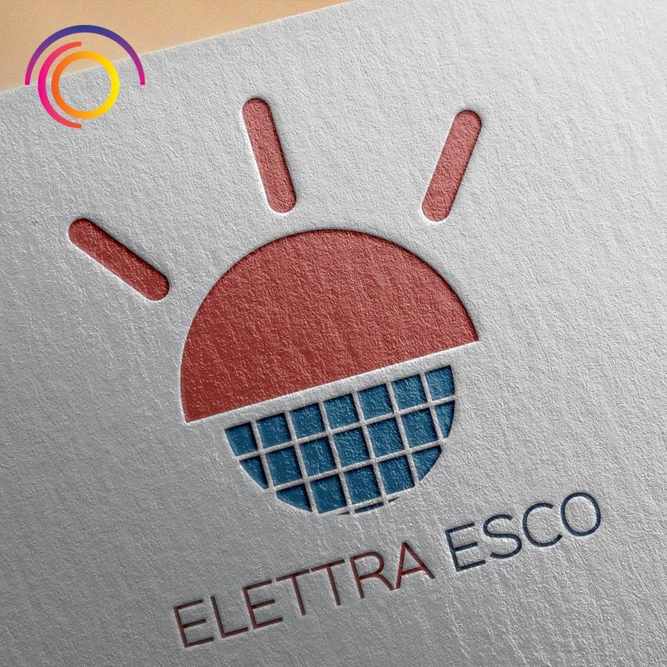 Ideazione e Realizzazione Marchio ELETTRAESCO - Efficienza Energetica