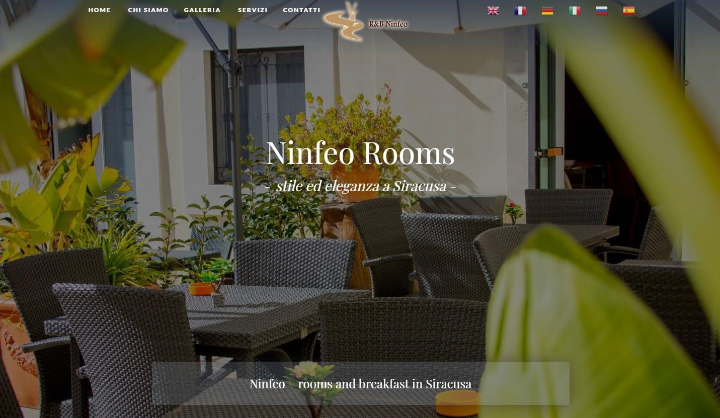 Realizzazione Sito web per Struttura turistica a Siracusa