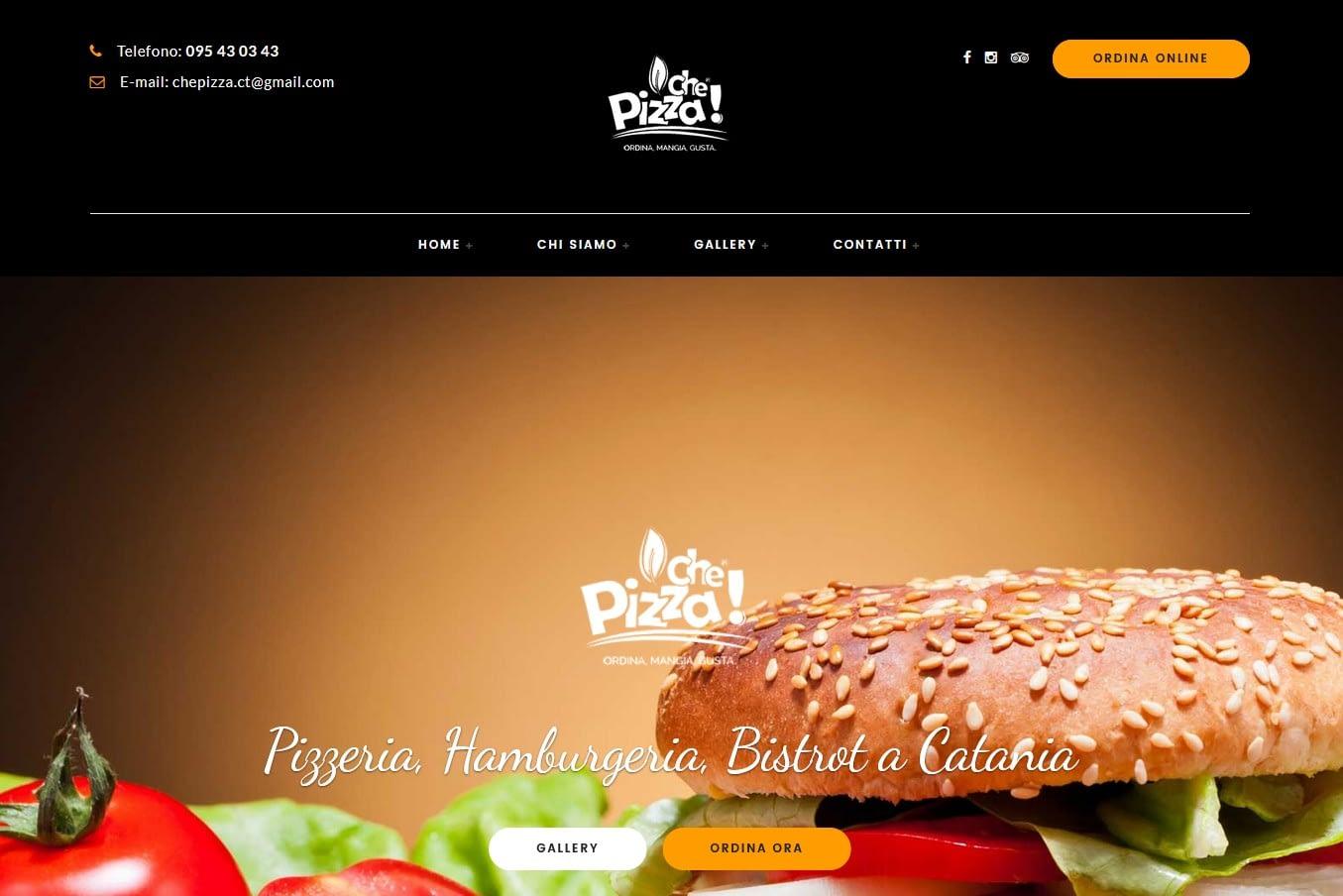 Realizzazione Food Commerce per Che Pizza Gestionale per ordinazioni per delivery e take away