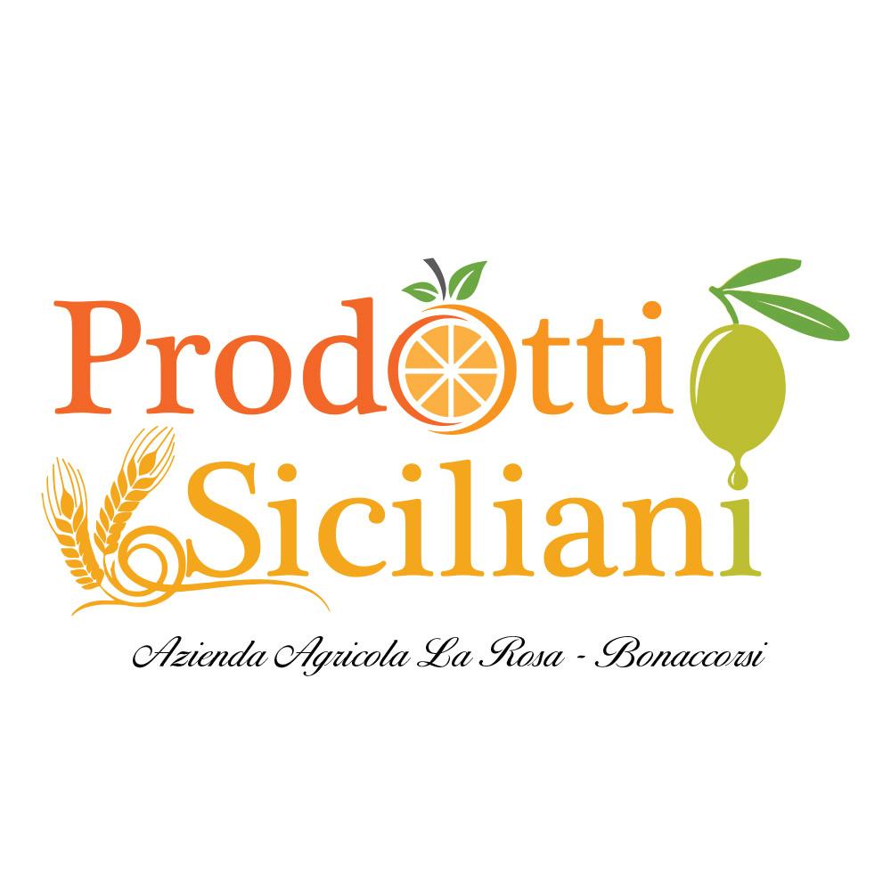 Restyling Logo Agricola La Rosa - Azienda Agricola - Prodotti Tipici Siciliani