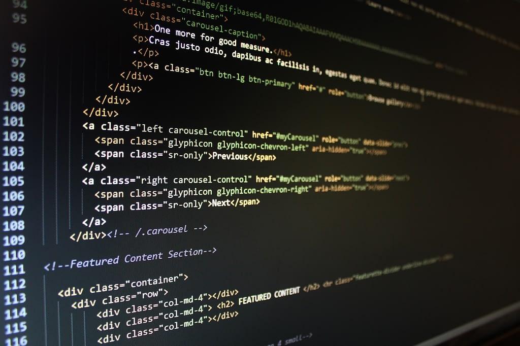 Sviluppiamo siti web in html, php e wordpress