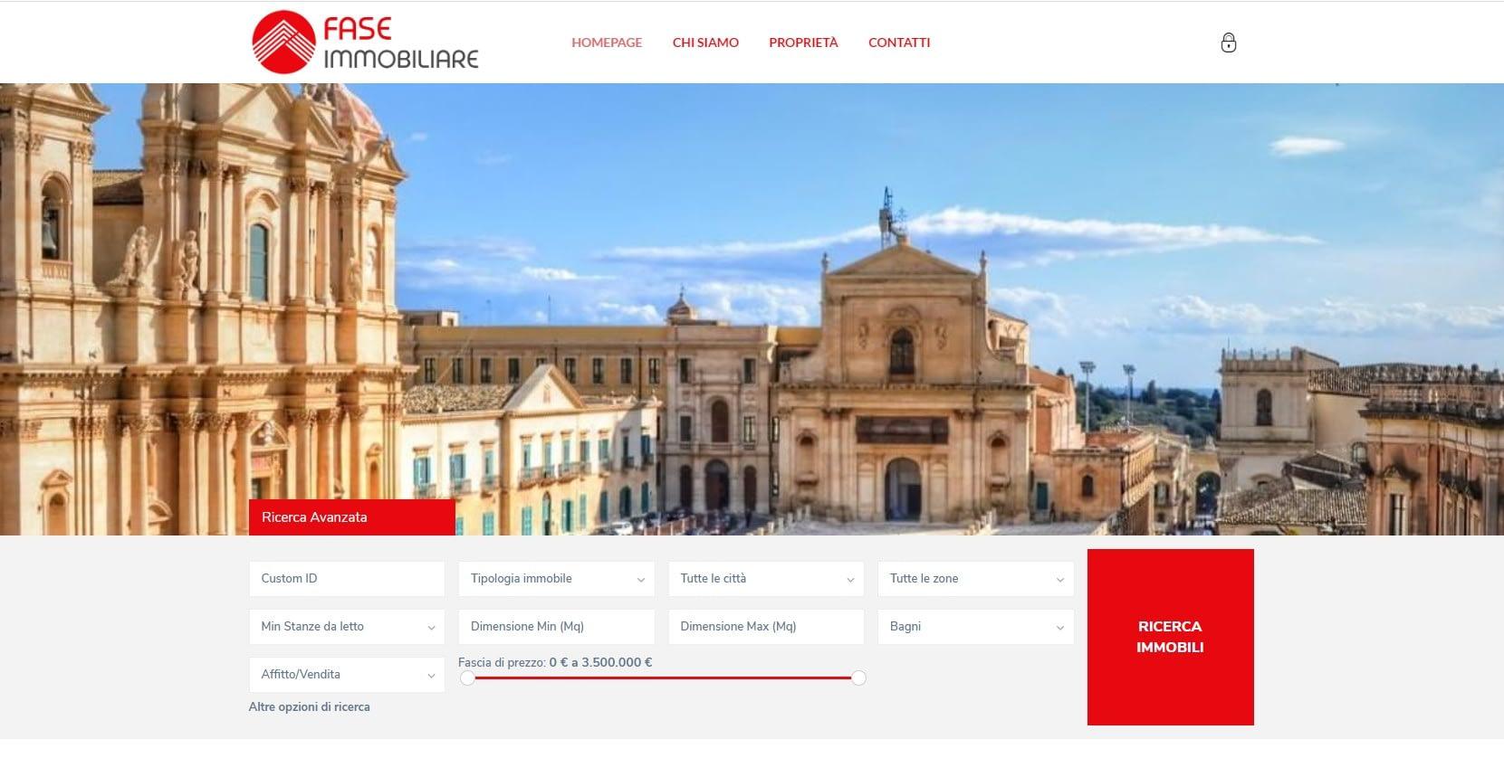 Realizzazione portale per agenzia immobiliare