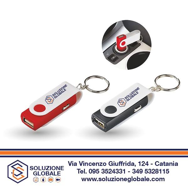 SG009 - CARICATORE AUTO USB